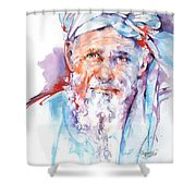 Wisdom Of Ages Shower Curtain