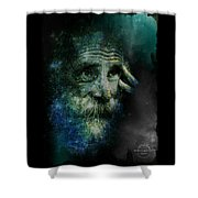 Wisdom Of The Stars Shower Curtain