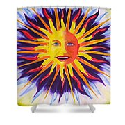 Wisdom Sun Shower Curtain