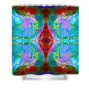 Wisdome And Mystery Abstract Pattern Artwork By Omaste Witkowski Shower Curtain