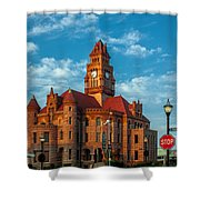 Wise County Courthouse Shower Curtain