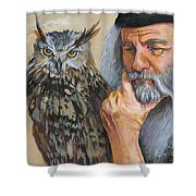 Wise Guys Shower Curtain