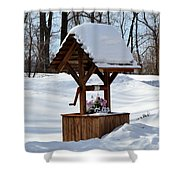 Wishing For Spring Shower Curtain