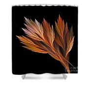 Wispy Tones Of Autumn Shower Curtain