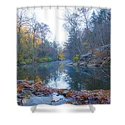 Wissahickon Creek - Fall In Philadelphia Shower Curtain