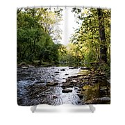 Wissahickon Creek Near Bells Mill Shower Curtain