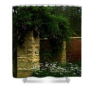 Wisteria In Moonlight Shower Curtain