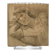 Wistful - Drawing Shower Curtain
