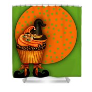 Witch Cupcake 5 Shower Curtain
