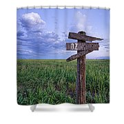 Witch Way To Oz Shower Curtain