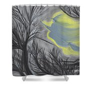 Witch Wood By Jrr Shower Curtain