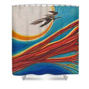 Witches' Branch 1 By Jrr Shower Curtain