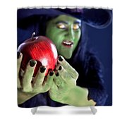 Witch's Apple Shower Curtain
