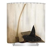 Witch's Corner Shower Curtain