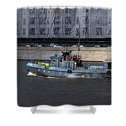 With All Sails Set Shower Curtain