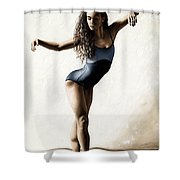 With Deftness Shower Curtain