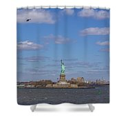 With Liberty... Shower Curtain