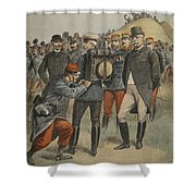 With The Army Manoeuvres The Duke Shower Curtain
