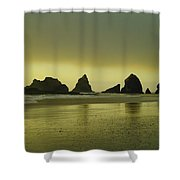 With The Ease Of A Sun Ray Shower Curtain