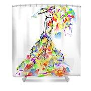 With Umbrella 0645 Marucii Shower Curtain