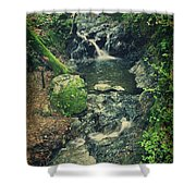 With You Here Beside Me Shower Curtain by Laurie Search
