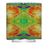 Within You Without You Mosaic Shower Curtain