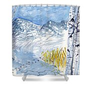 Without Borders Shower Curtain