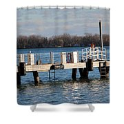 Without Fear Shower Curtain