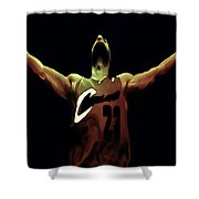Witness Shower Curtain by Brian Reaves
