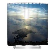 Wizard Sunburst Shower Curtain