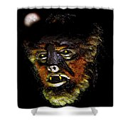 Wolf Man Original Work One Shower Curtain