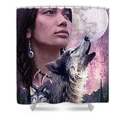 Wolf Montage Shower Curtain by Garry Walton