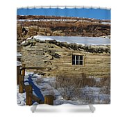 Wolfe Ranch Cabin Arches National Park Utah Shower Curtain