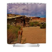 Wolfe Ranch Shower Curtain