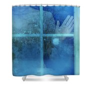 Woman At A Window Shower Curtain