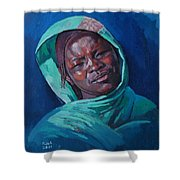 Woman From Darfur Shower Curtain