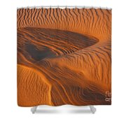 Woman In The Dunes Shower Curtain