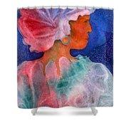 Woman In Turban Shower Curtain