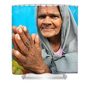 Woman Of India Shower Curtain