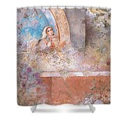 Woman Of Valor Shower Curtain