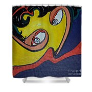 Woman20 Shower Curtain