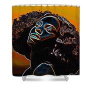 Womans Essence II              Shower Curtain