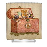 Womans Treasures Shower Curtain
