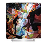 Womansong Shower Curtain