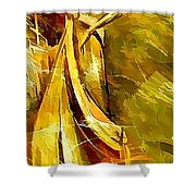 Women 643-12-13 Marucii Shower Curtain by Marek Lutek