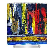 Women In Ceremony Shower Curtain