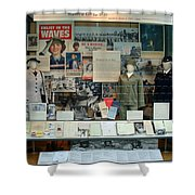 Women In The Military Arlington Cemetery  Shower Curtain