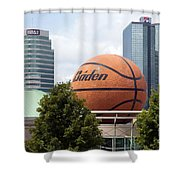 Women's Basketball Hall Of Fame Knoxville Tennessee Shower Curtain