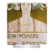 Womens Edition Buffalo Courier Shower Curtain