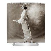 Women's Fashion, C1910 Shower Curtain